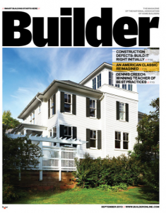 Builder magazine September 2013