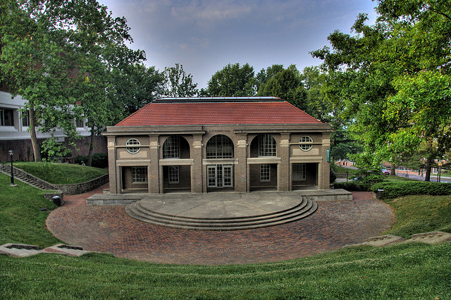This is an HDR shot I took of Scripps Hall several years ago. OU's campus is beautiful.