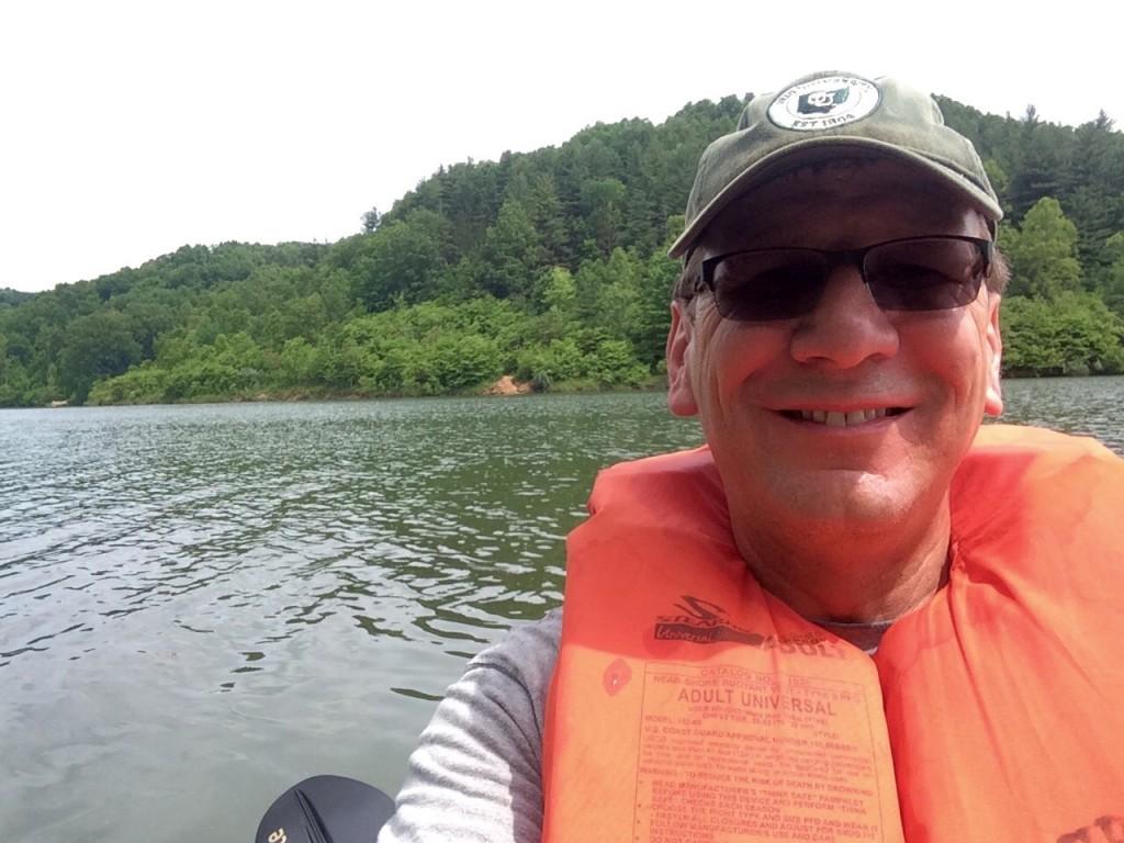 Paddling Dow Lake