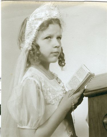Mom's First Communion photo